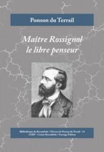 Baixar Maitre rossignol le libre penseur pdf, epub, eBook