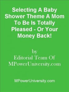 Baixar Selecting a baby shower theme a mom to be is pdf, epub, eBook