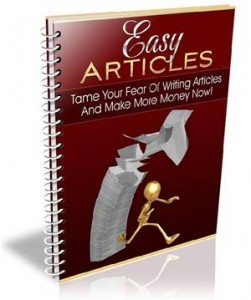 Baixar How to write easy articles ! pdf, epub, eBook