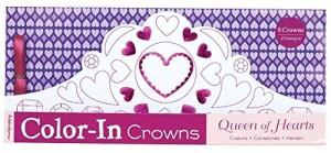 Baixar Queen of hearts color-in crowns pdf, epub, ebook