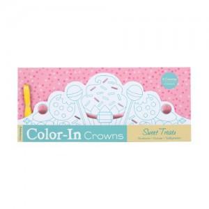 Baixar Sweet treats color-in crowns pdf, epub, eBook