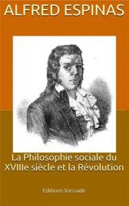 Baixar Philosophie sociale du xviiie siecle et la pdf, epub, ebook