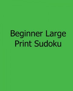 Baixar Beginner large print sudoku pdf, epub, eBook