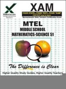Baixar Mtel Middle School Mathematics-Science 51 pdf, epub, eBook