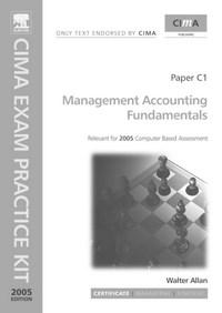 Baixar Management Accounting Fundamentals: Cima Exam Practice Kit pdf, epub, eBook