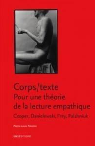 Baixar Corps/texte. pour une theorie de la lecture pdf, epub, eBook
