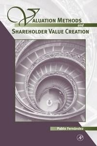 Baixar Valuation Methods and Shareholder Value Creation pdf, epub, eBook