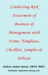 Baixar Conducting Risk Assessment of Business & Management with Forms, Templates, Checklist, Samples and Po pdf, epub, eBook