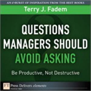 Baixar Questions managers should avoid asking pdf, epub, eBook
