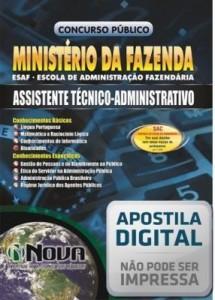 Baixar Apostila Concurso Ministério da Fazenda – Assistente Técnico Administrativo pdf, epub, eBook