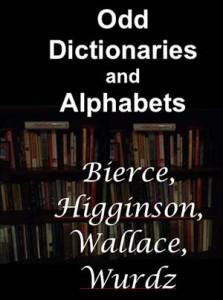 Baixar Odd dictionaries and alphabets pdf, epub, eBook