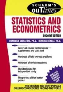 Baixar Schaum's Outline of Statistics and Econometrics pdf, epub, eBook