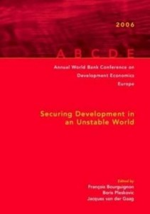 Baixar Annual World Bank Conference on Development Economics 2006, Europe (Amsterdam Proceedings): Securing pdf, epub, eBook