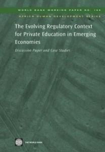 Baixar The Evolving Regulatory Context for Private Education in Emerging Economies pdf, epub, eBook