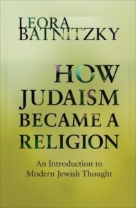 Baixar How Judaism Became a Religion: An Introduction to Modern Jewish Thought pdf, epub, eBook