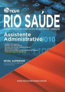 Baixar Apostila RIO SAÚDE 2016 – Assistente Administrativo pdf, epub, eBook