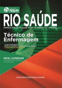 Baixar Apostila RIO SAÚDE 2016 – Técnico de Enfermagem pdf, epub, eBook