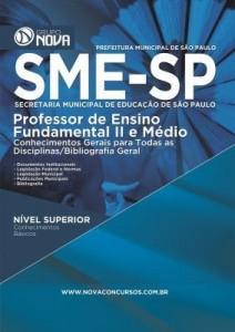 Baixar Apostila SME-SP 2016 – Professor pdf, epub, eBook