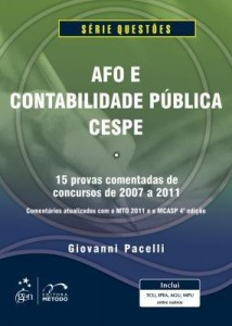 Baixar AFO e Contabilidade Pública – Questões Cespe pdf, epub, ebook