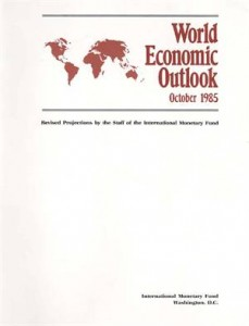 Baixar World economic outlook, october 1985 pdf, epub, eBook