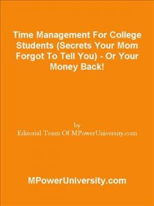 Baixar Time management for college students (secrets pdf, epub, eBook