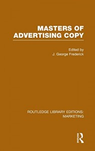 Baixar Masters of advertising copy pdf, epub, eBook