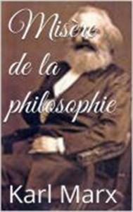 Baixar Misere de la philosophie pdf, epub, eBook