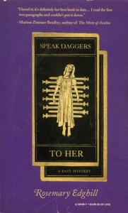 Baixar Speak daggers to her pdf, epub, ebook