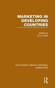 Baixar Marketing in developing countries pdf, epub, eBook