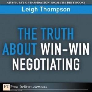 Baixar The Truth about Win-Win Negotiating pdf, epub, ebook