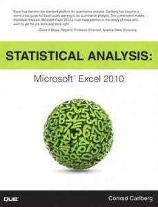 Baixar Statistical Analysis: Microsoft Excel 2010 pdf, epub, ebook