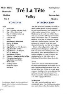 Baixar Tre La Tete Valley climbing guide – Mont Blanc pdf, epub, eBook