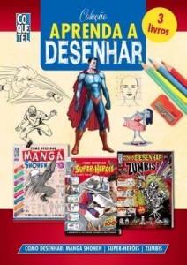 Baixar Coleção Aprenda A Desenhar 2: Como Desenhar Mangá Shonen, Super-Heróis e Zumbis pdf, epub, eBook