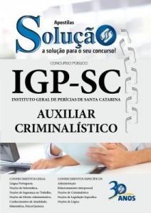Baixar Apostila Digital IGP-SC – Auxiliar Criminalístico pdf, epub, ebook