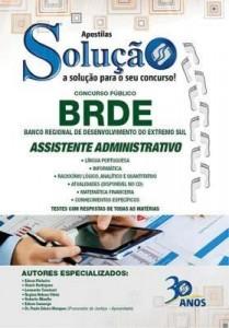Baixar Apostila Digital BRDE – Assistente Administrativo 2015 pdf, epub, ebook