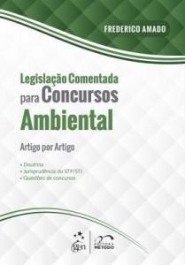 Baixar Legislação Comentada para Concursos – Ambiental pdf, epub, ebook