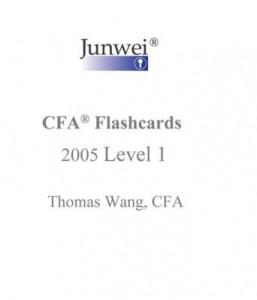 Baixar Junwei CFA Flashcards – 2005 Level 1 pdf, epub, eBook