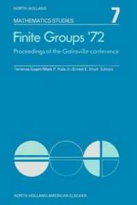Baixar Finite groups Æ72: Proceedings of the Gainesville Conference on Finite Groups, March 23-24, 1972 pdf, epub, ebook
