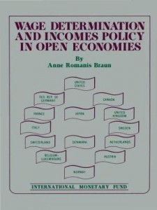 Baixar Wage Determination and Incomes Policy in Open Economies pdf, epub, eBook