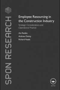 Baixar Employee Resourcing in the Construction Industry: Strategic Considerations and Operational Practice pdf, epub, eBook