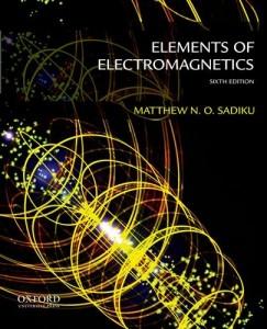 Baixar Elements of electromagnetics pdf, epub, ebook