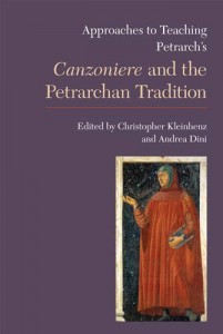 Baixar Approaches to teaching petrarch's canzoniere and pdf, epub, ebook