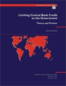 Baixar Limiting central bank credit to the government: pdf, epub, eBook