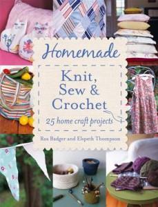 Baixar Homemade knit, sew and crochet: 25 home craft pdf, epub, eBook