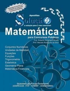 Baixar Apostila Digital Matemática para Concurso Público – Teórico e Exercícios Resolvidos pdf, epub, ebook