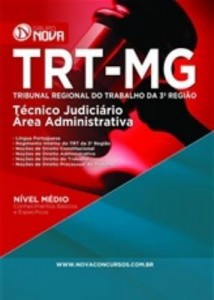 Baixar Apostila Técnico Judiciário ? Área Administrativo – TRT – MG pdf, epub, ebook