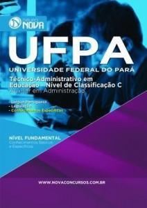 Baixar Apostila UFPA 2015 – Técnico Administrativo em Educação ? Auxiliar em Administração pdf, epub, ebook