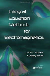 Baixar Integral equation methods for electromagnetics pdf, epub, ebook