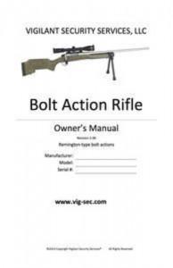 Baixar Bolt action rifle owner's manual pdf, epub, eBook