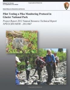 Baixar Pilot testing a pika monitoring protocol in pdf, epub, ebook